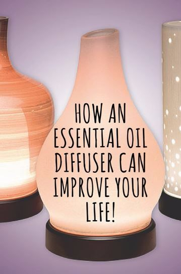 how an essential oil diffusercan improve your life