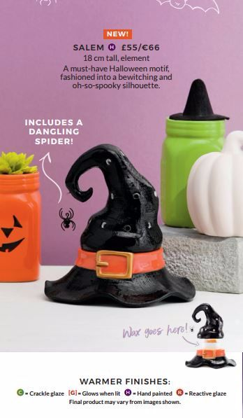 SCENTSY SALEM HALLOWEEN WARMER WICK FREE SCENTED CANDLES