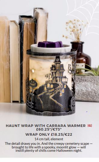 HAUNT WRAP SCENTSY WICK FREE SCENTED CANDLES
