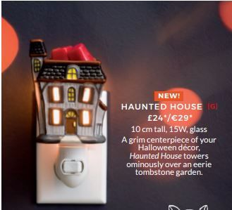 HAUNTED HOUSE MINI WARMER WICK FREE SCENTED CANDLES SCENTSY