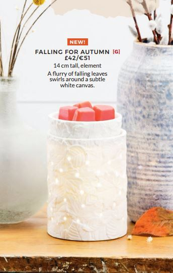 FALLING FOR AUTUMN SCENTSY HALLOWEEN WARMER