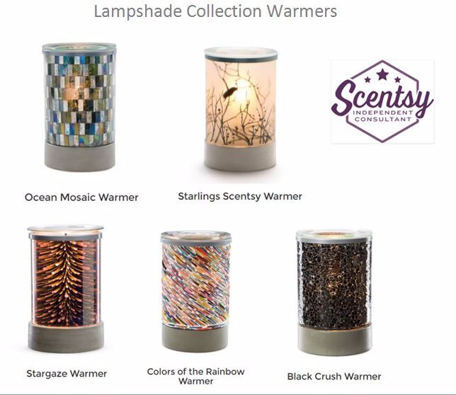 lampshade collection warmers scentsy
