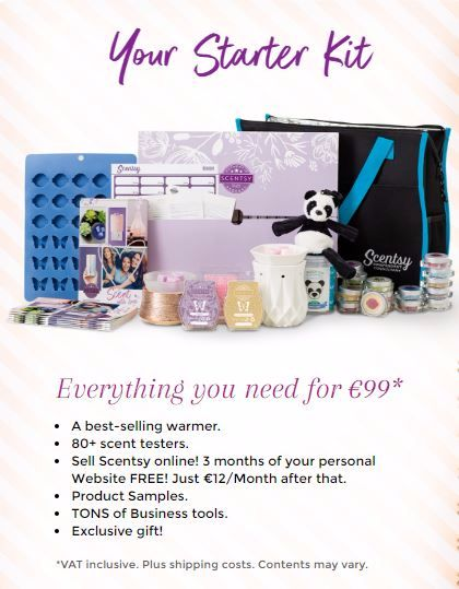 scentsy starter kit spain
