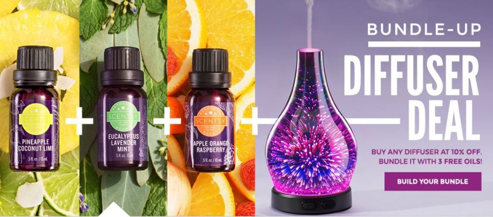BUNDLE UP SCENTSY DIFFUSER DEAL FEB 2018