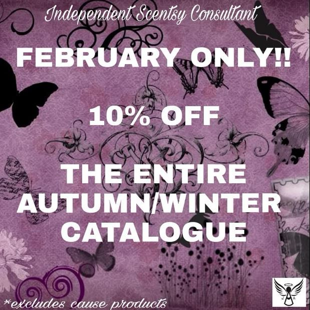 10 % off feb 2018 aut