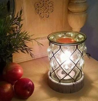 counrty light scentsy warmer wick free scented candles