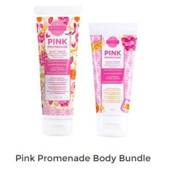 pink pomenade body bundle scentsy