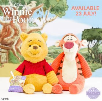 winnie the pooh and tigger scentsy buddy disney collection