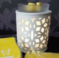 DARLING WHITE SCENTSY WARMER WICK FREE SCENTED CANDLES