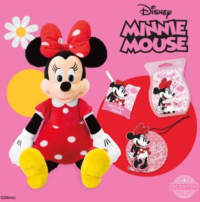 MINNIE MOUSE SCENTSY DISNEY