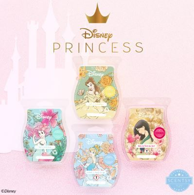 DISNEY PRINCESS WAX COLLECTION