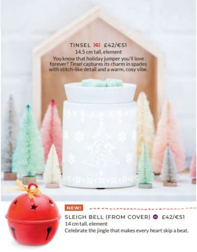 CHRISTMAS SCENTSY WARMERS WICK FREE SCENTED CANDLES