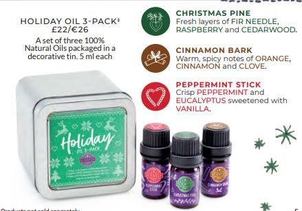 CHRISTMAS SCENTSY SCENTED OIL PACK 2018 WICK FREE SCENTED CANDLES