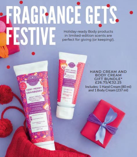 FESTIVE FRAGRANCES BODY BUNDLE WICK FREE SCENTED CANDLES