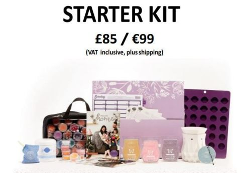 full starter kit contents scentsy wick free scented candles