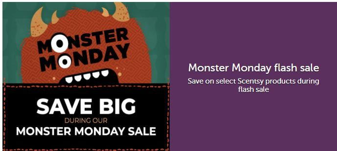 monster monday flash sale