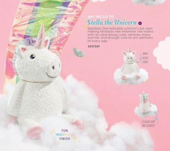 stella the unicorn scentsy candle warmer UK