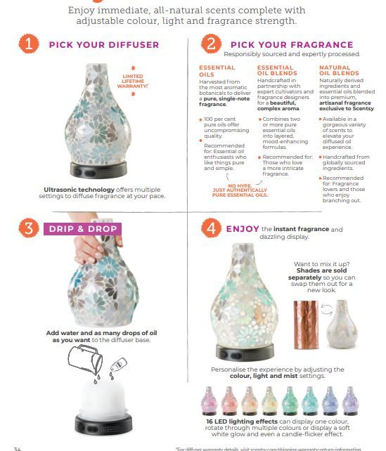 scentsy diffuser wick free scented candles 2019