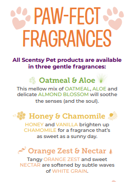pet scentsy fragrances