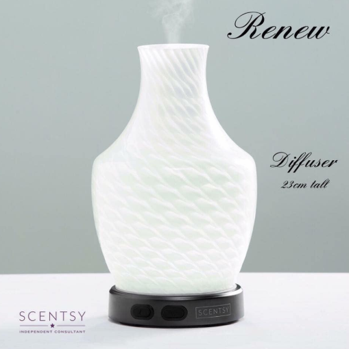 RENEW SCENTSY DIFFUSER WICK FREE SCENTED CANDLES