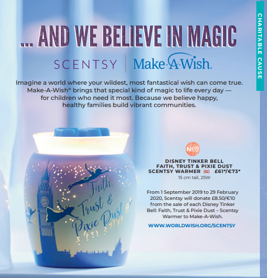 Tinkerbell Scentsy warmer