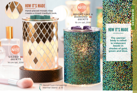 NEW SCENTSY WARMER WICK FREE SCENTED CANDLES