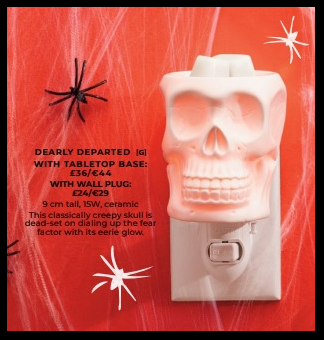 dearly departed mini plug in scentsy wick free scented candles