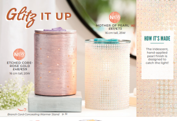 glitz it up scentsy wick free scented candles
