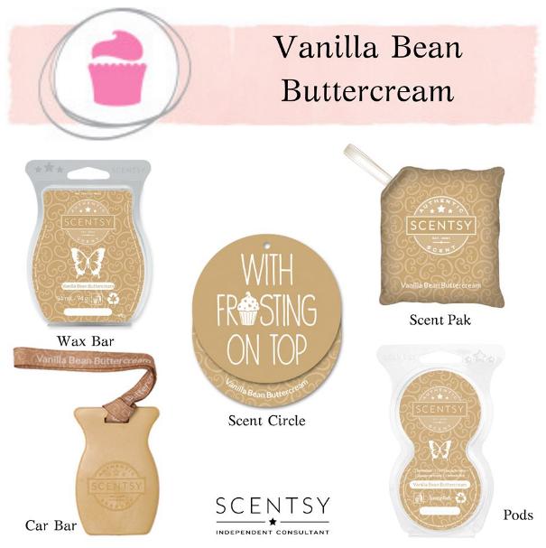 Vanilla Bean Buttercream Scentsy