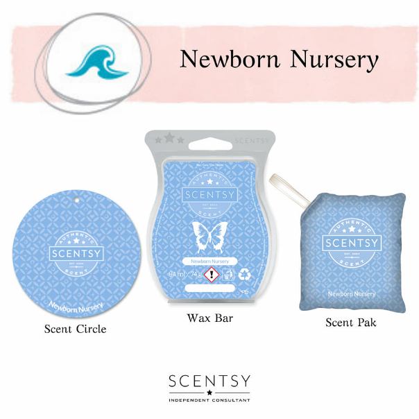 newborn nursery scentsy wick free scented candles