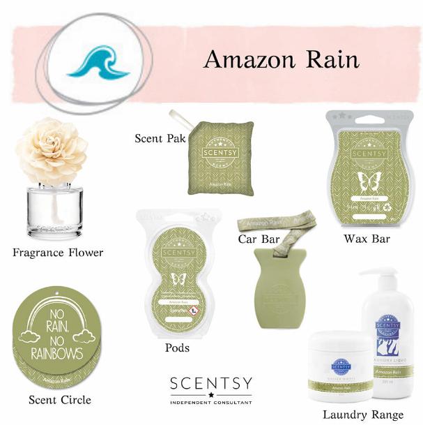 Amazon Rain Scentsy
