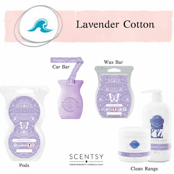 Lavender Cotton Scentsy