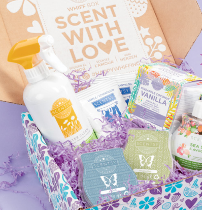 SCENTSY WHIFF BOX SCENT WITH LOVE WICK FREE SCENTED CANDLES