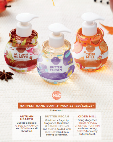 AUTUMN FRAGRANCE HAND SOAPS