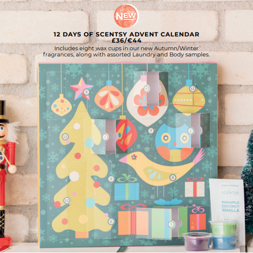 Scentsy advent Calendar