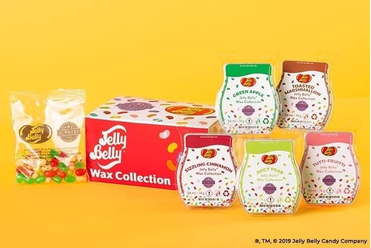 scentsy jelly bean collection
