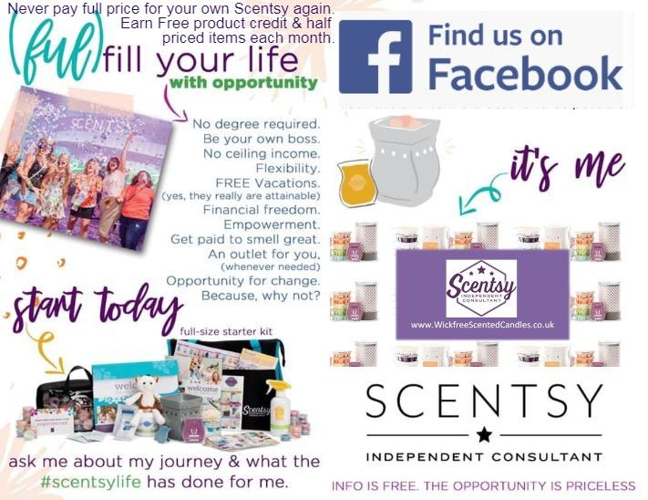 INFO SCENTSY OPPORTUNITY TO JOIN