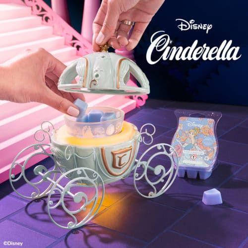 Disney Cinderella Carriage Scentsy Warmer