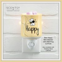 BE HAPPY SCENTSY MINI WARMER