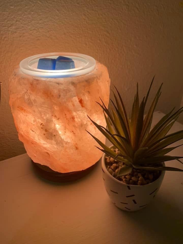 Himalayan Salt Pink Scentsy Warmer Wick Free Scented candles