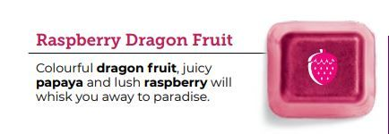 Raspberry Dragon Fruit Scentsy Bar wick free scented candles
