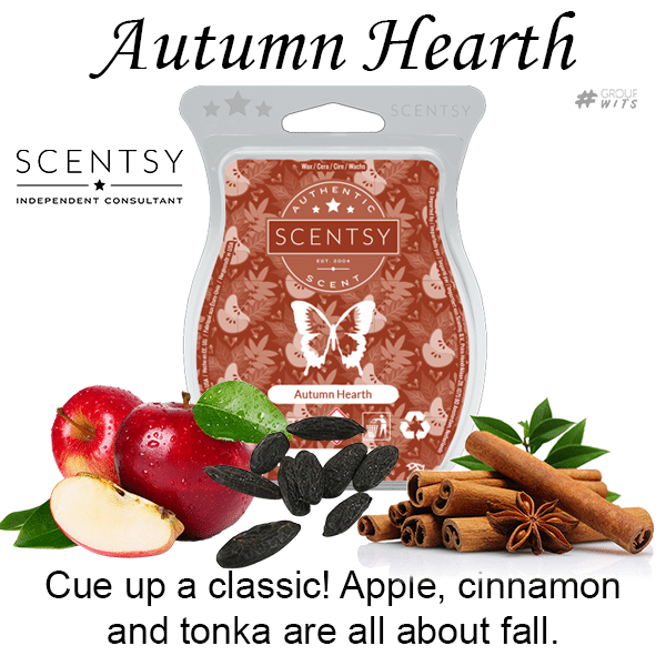Autumn Hearth Scentsy Bar wick free scented candles