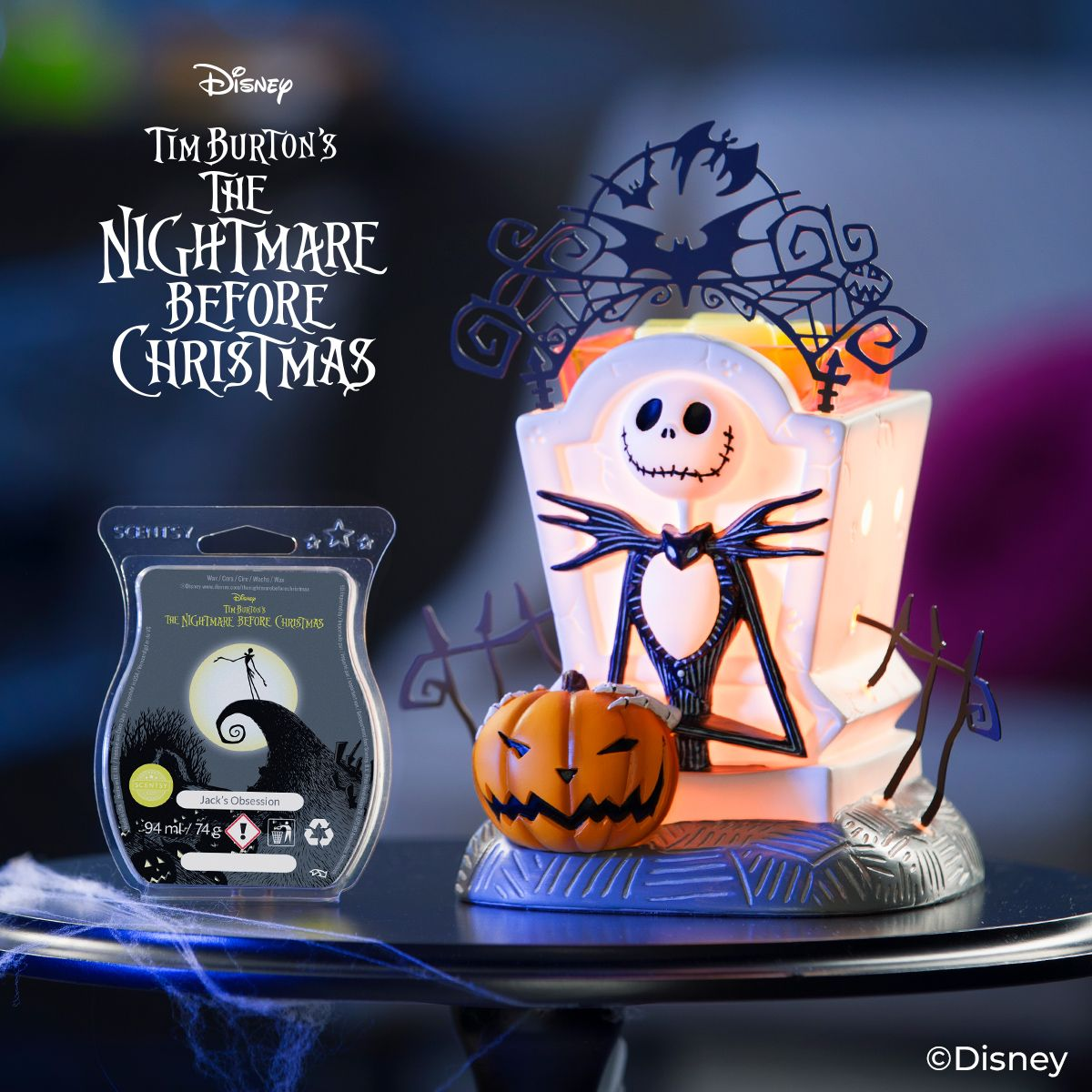 Jack Skellington: Pumpkin King Scentsy Warmer