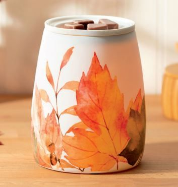 leaves you happy scentsy autumn