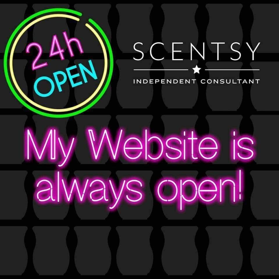 shop scentsy 24 hours a day