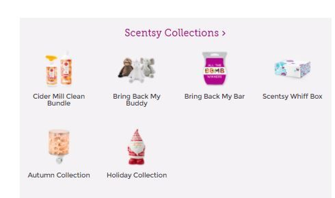 scentsy collections