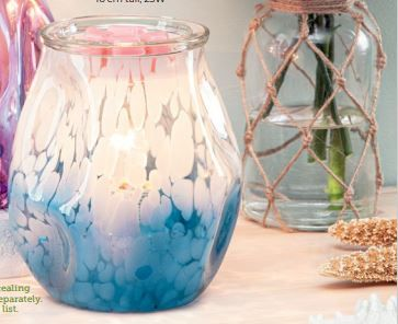 Bubbled Blue Ombre Scentsy Warmer