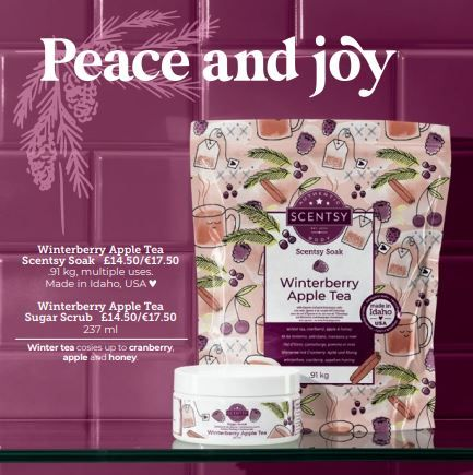 christmas scentsy body wick free scented candles