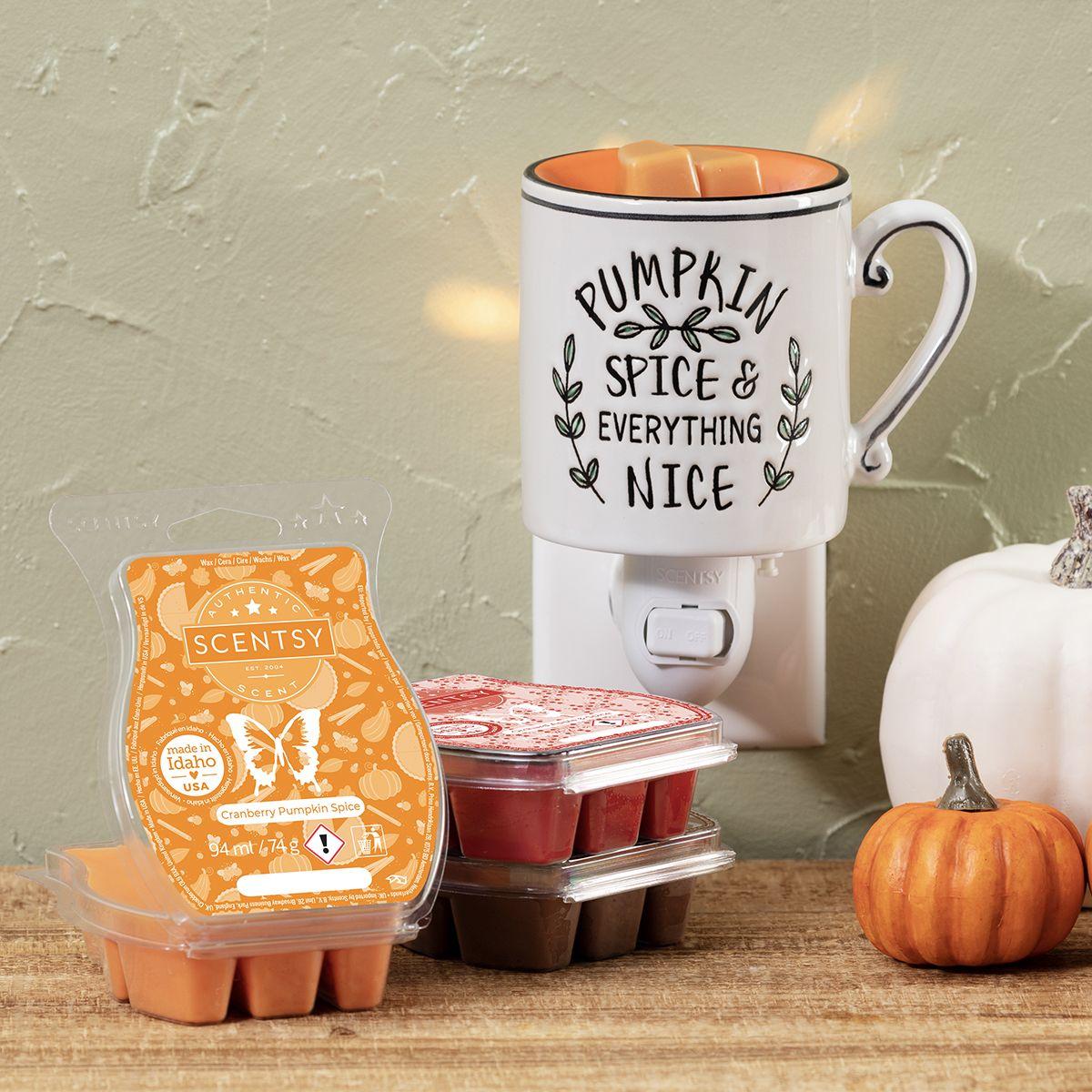 Pumpkin Spice & Everything Nice Scentsy Mini Warmer