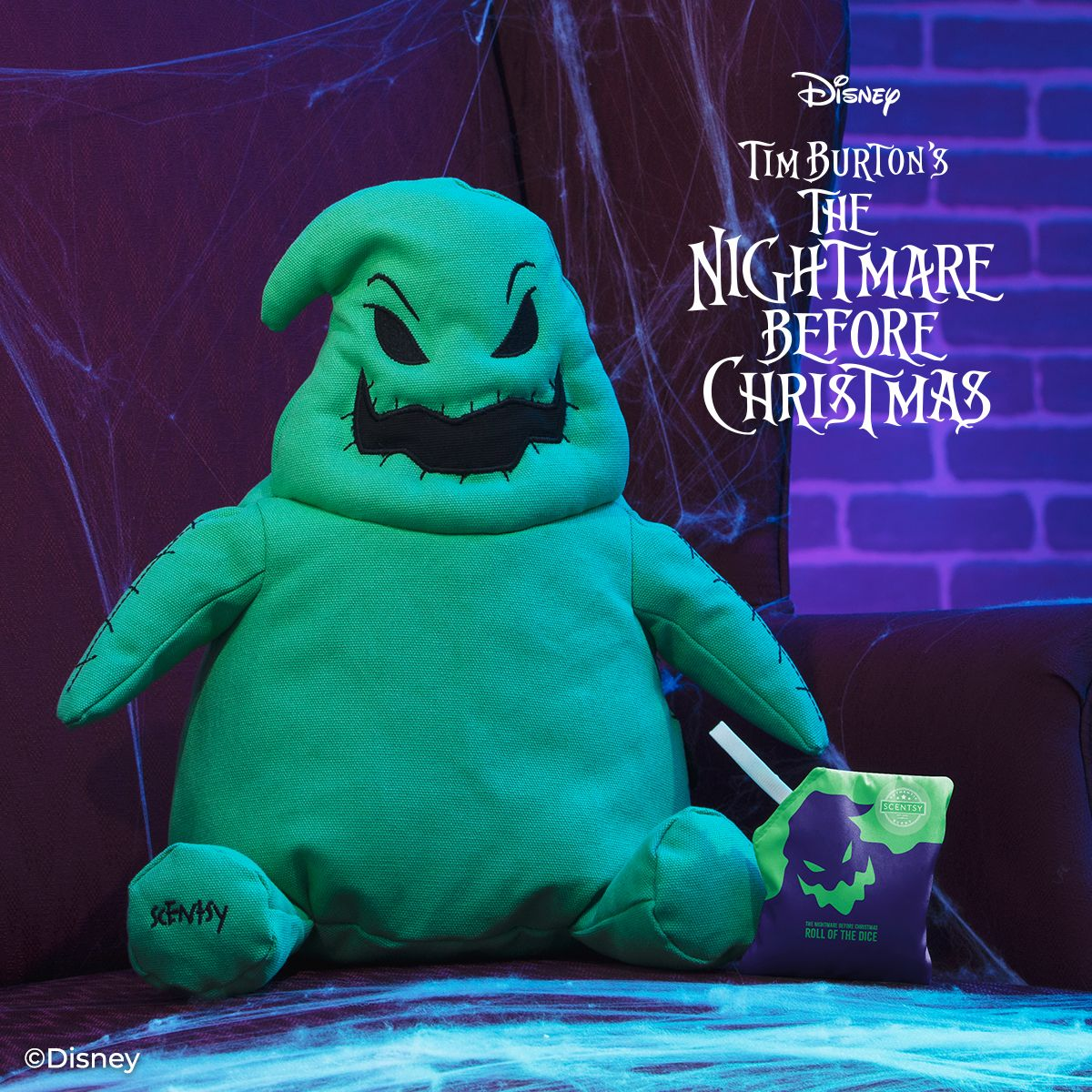 Oogie Boogie Scentsy Buddy The Nightmare Before Christmas